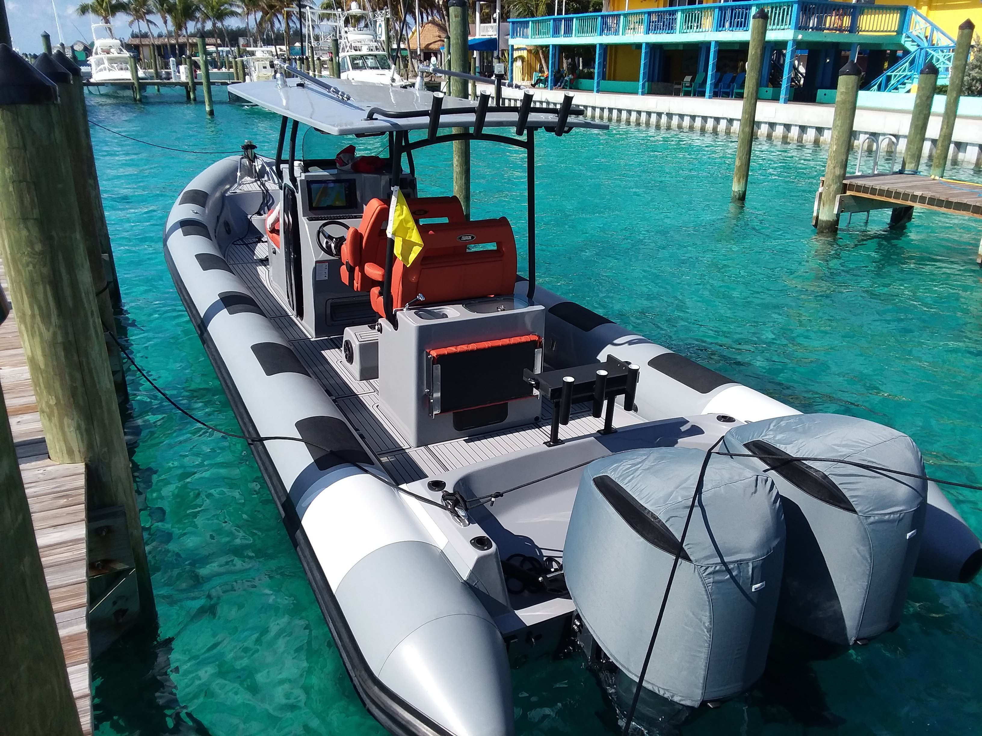 Tow Behind 1060 34ft Tow Behind Rib Fluid Watercraft